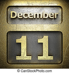 december 11 golden sign