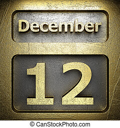 december 12 golden sign