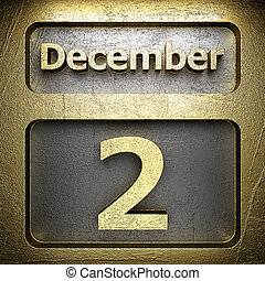 december 2 golden sign