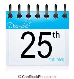 december 25, sida, glätta