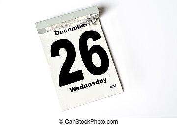 december, 26., 2012