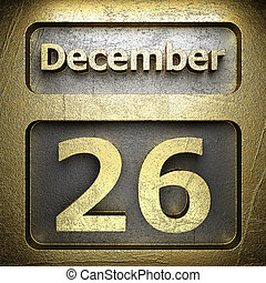 december 26 golden sign