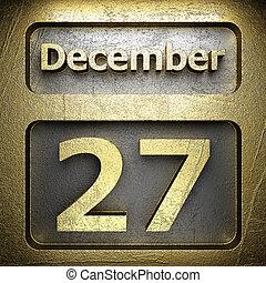 december 27 golden sign