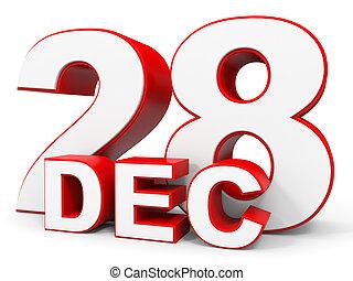[Afbeelding: december-28-3d-text-on-white-stock-illus...916383.jpg]