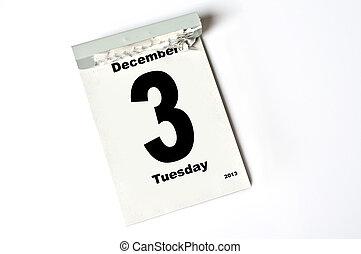 december, 3., 2013