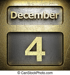 december 4 golden sign