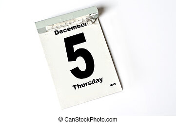 december, 5., 2013