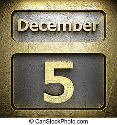 december 5 golden sign