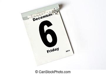 december, 6., 2013
