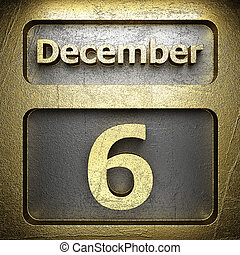 december 6 golden sign
