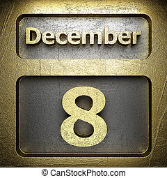december 8 golden sign