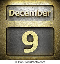 december 9 golden sign