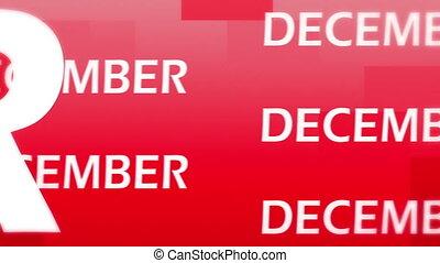 December animation