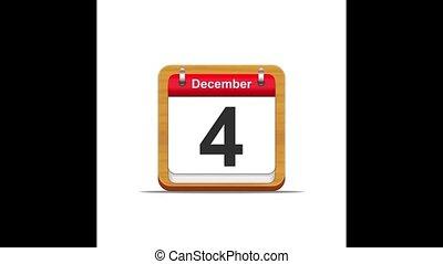 December calendar.