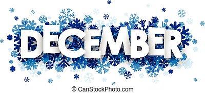 December sign.