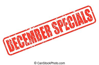 DECEMBER SPECIALS red stamp text