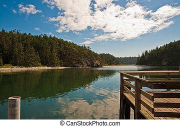 Deception State Pass Park, WA state