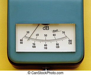 Decibel measure - Instrument for decibel measurement