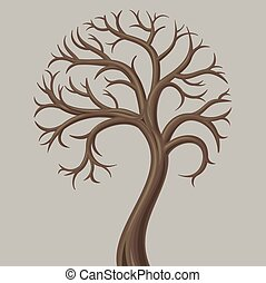 Deciduous tree trunk low - Trunk curve low deciduous tree...