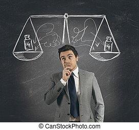 decisión, empresa / negocio