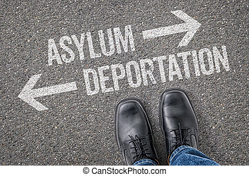 Decision at a crossroad - Asylum or Deportation