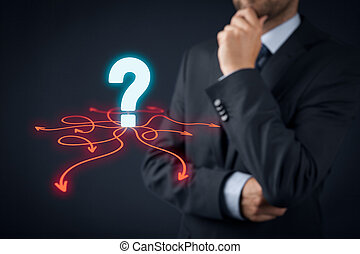 Decision making (management decisions) - select the best...
