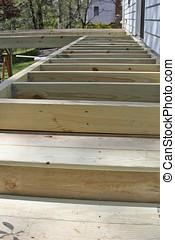 Deck Construction Close Up