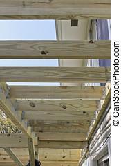 Deck Construction in Progress
