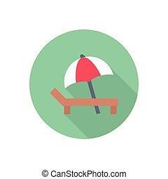 deck  flat color icon
