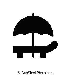 deck glyph flat icon