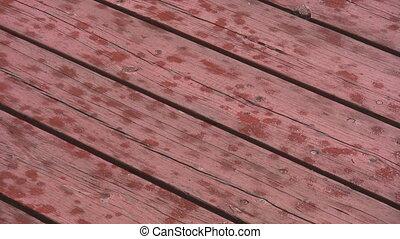 deck, Holz, Regen