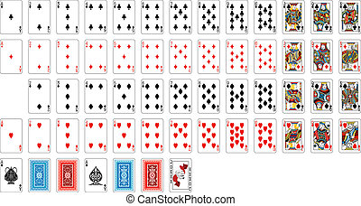 deck of cards - complete deck of cards