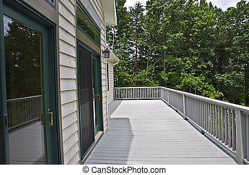 Deck on Back of House