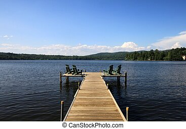 Deck on the lake