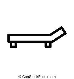deck thin line icon