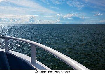 deck., vue mer