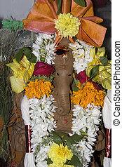Decked Idol of Ganesha