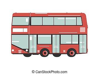 decker, bus., ダブル