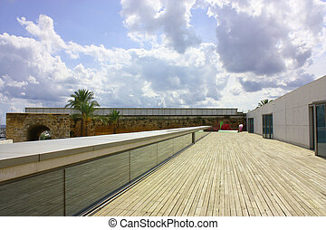 decking, moderno, zona