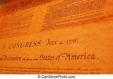 Declaration of Indenedence - United States Declaration of...