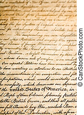 united states of america - declaration of independence - a ...