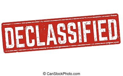 Declassified sign or stamp - Declassified grunge rubber...