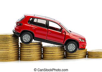 declinante, ventas coche, ganancias