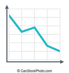 Decline Chart Icon
