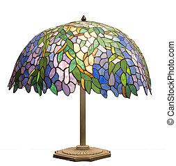 deco arte, lampada tavola