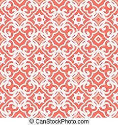 deco, arte, patrón, formas, vector, cordón