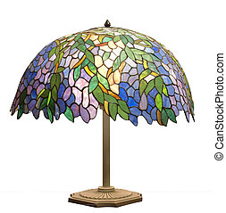 deco de arte, lámparade mesa