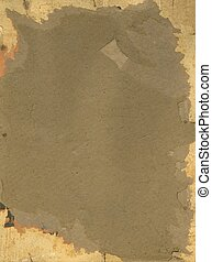 decollage - old stained paper