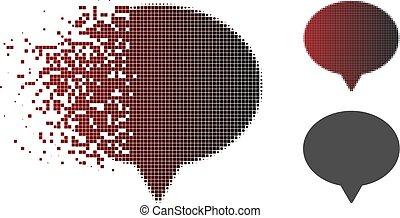 Decomposed Pixel Halftone Hint Icon