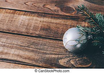 decoração, árvore, natal